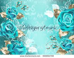 turquoise roses turquoise roses background free vector stock