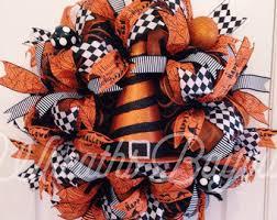 wicked witch halloween wreath halloween wreath deco mesh