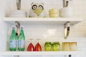 the positive side of open kitchen shelving amazing home decor