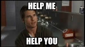 Help Me Help You Meme - the periodic pr agency plea help me help you what s