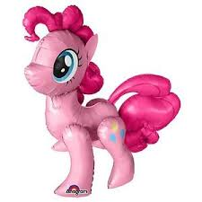 my pony balloons my pony airwalkers pinkie pie foil balloons air fill