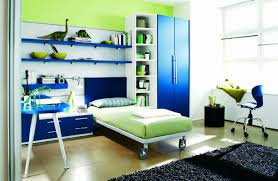 bedroom fresh blue and green teen boy bedroom ideas combined with fresh blue and green teen boy bedroom ideas combined with lovely blue wardrobe cabinet and blue swivel chair also a large black fur rug
