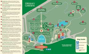 Rose Garden Layout by Garden Map Hershey Gardens