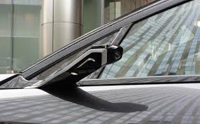 Bmw I8 Mirrorless - bmw substitutes cameras for side view mirrors on i8 concept gas 2