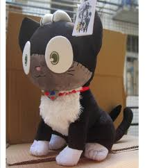 wholesale free shipping blue exorcist ao no exorcist cat sith kuro