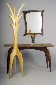 tango mirror hall table and coat tree seth rolland