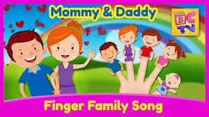finger family song finger nursery rhyme for