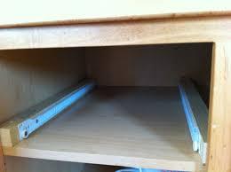 kitchen cabinet drawer guides cabinet drawer slides decor design