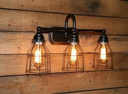Vintage Vanity Light Lighting Design Ideas Good Fixtures Edison Bulb Vanity Light Nice