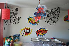 spiderman wall decor party spider man birthday decorations spider man party decorations