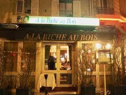 cuisine au bois parisian bistro with traditional cuisine a la biche au bois