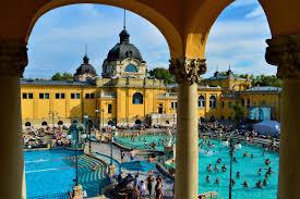 bagno termale e piscina széchenyi bains széchenyi entrée coupe file avec budapest
