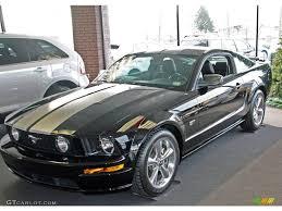 2007 Mustang Gt Black 2007 Black Ford Mustang Gt Premium Coupe 24492923 Gtcarlot Com