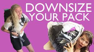 tips for downsizing tips for downsizing your pack lightweight backpacking youtube
