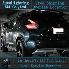 juke aftermarket tail lights led rear l led tail lights led driving working l for prado