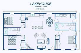 Floor Plans With Measurements Floor Plan Of A House With Dimensions