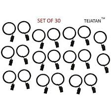 Drapery Clips Without Rings Amazon Com Tojwi 24pcs Curtain Clips Rings Metal Drapery Curtain