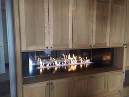 open and closed gas fireplaces