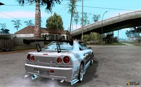 nissan skyline fast and furious 6 nissan skyline r 34 gt r m spec nur for gta san andreas