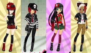 emo dress up games punk girl dress up by pichichama on deviantart