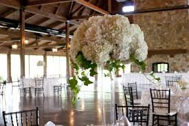 tall white hydrangea centerpiece www broadwayflorist com