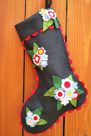 181 best christmas felt stockings images on pinterest felt