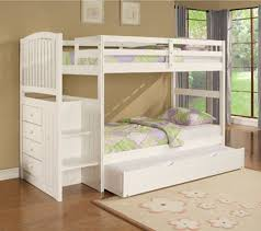 Bunk Bed With Trundle Bunk Beds Design For Furniture By Powell Company