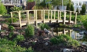 build garden pond bridge water garden bridge designs ideas plans