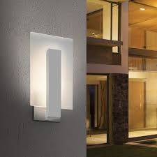 contemporary exterior light fixtures how to choose modern outdoor lighting design necessities for modern