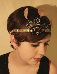 how to make a 1920s hairpiece 1920s headband tutorial stitches and dreaming