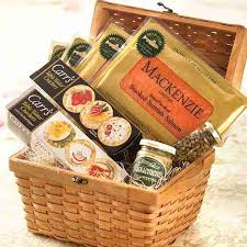 salmon gift basket gourmet food baskets salmon sensation gift basket mackenzie limited