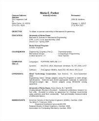 Civil Engineering Resumes Civil Engineering Resume Model Pdf Mechanical Format Download