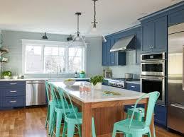 kitchen ideas with blue cabinets 53 blue kitchens blue kitchen design ideas hgtv