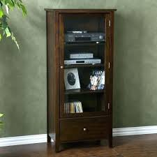Multimedia Cabinet With Glass Doors Multimedia Cabinet With Doors Storage Cabinet With Glass Doors