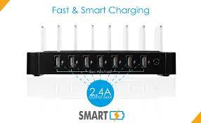 amazon black friday usb power adapter amazon com gofanco 65w 7 port usb charging station organizer