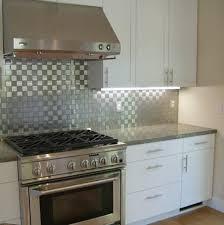 Installing Stainless Steel Tile Backsplash  Cabinet Hardware Room - Covering tile backsplash