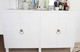 diy ikea hack besta cabinet two ways glam latte