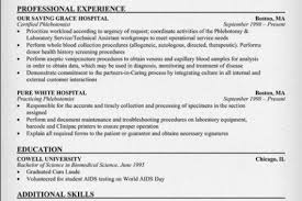 Phlebotomist Sample Resume by Resume Experience Reentrycorps