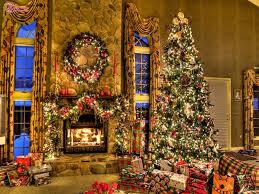 living room colored christmas tree lights decorating ideas