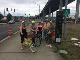 Seattle Bike Trail Map by Seattle Critical Lass Easy Social Ladies Bike Rides Around Seattle