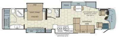 Motorhome Floor Plans Entegra Aspire 44b Floor Plan Png