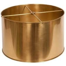 drum table l shades brass l shade gorgeous shiny things metal shades and the 3 or