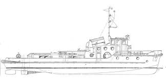 soviet river tugboat plans free ship plans