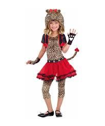 Halloween Animal Costumes Kids Rockin Cheetah Kids Halloween Costume Girls Animal Costume