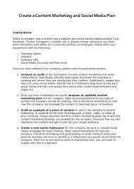 social media plan content u0026 social media marketing plan case study