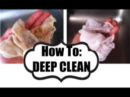 how to deep clean how to deep clean the norwex dish cloth youtube