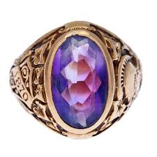 amethyst rings tiffany images Tiffany and co hunter college class ring with amethyst 1932 at 1stdibs jpg
