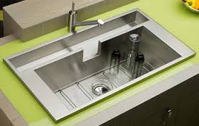 Choosing A Stainless Steel Kitchen Sink ExpressDecorcom - Metal kitchen sink