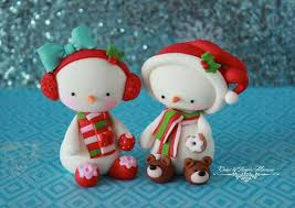 Christmas Cake Decorations Morrisons by 1821 Best Noel Christmas Natale Porcelaine Froide Pam Fimo
