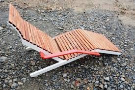 chaise longue ext rieur chaise longue alva extérieur de jardin en aluminium de couleur et